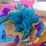 Tissue paper flowers final