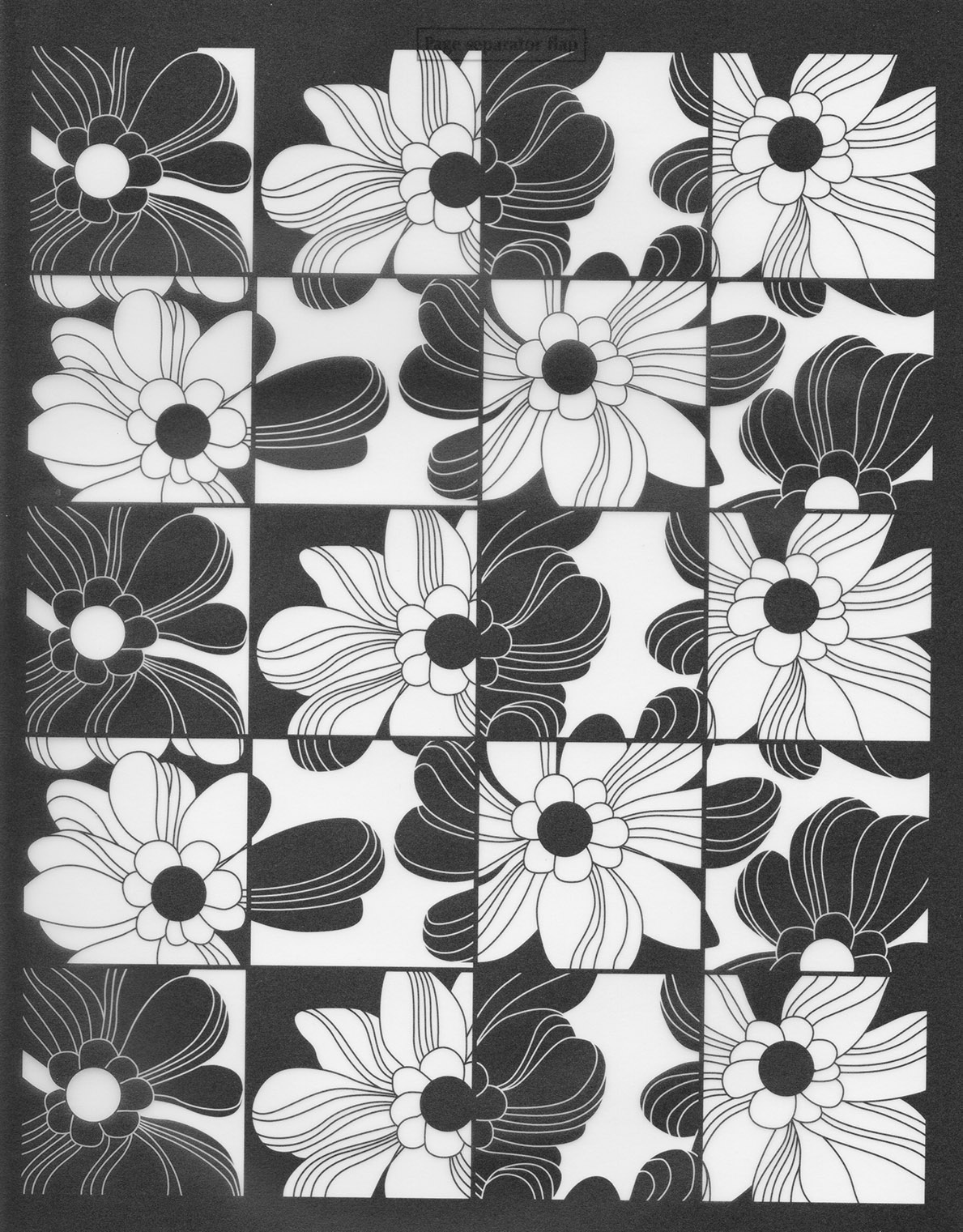 Floral Activity Sheet