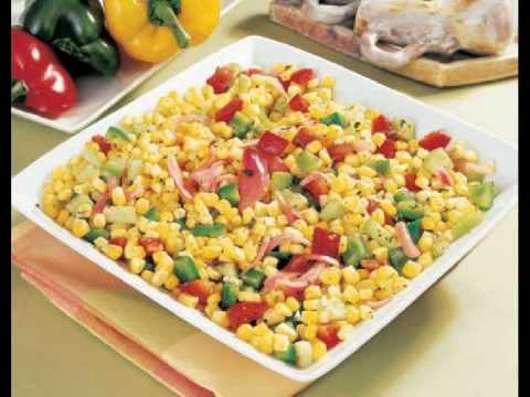 Corn with Poblano Peppers Recipe