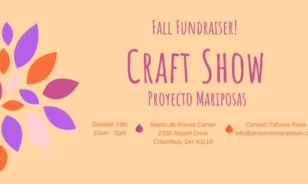 Sell your stuff at our first annual Proyecto Mariposas fall fundraiser!